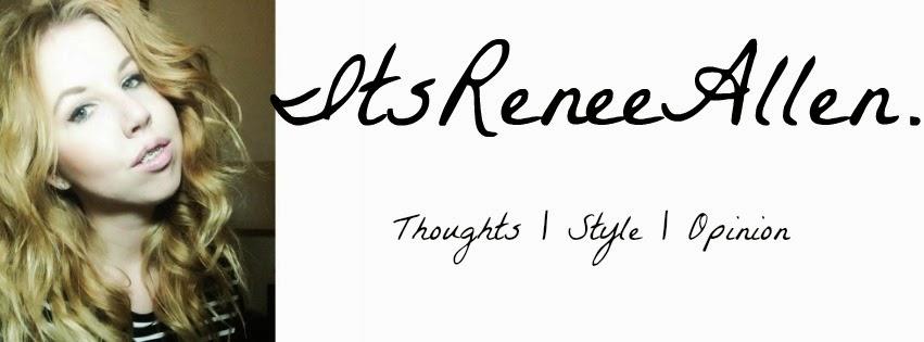 ItsReneeAllen | Blog