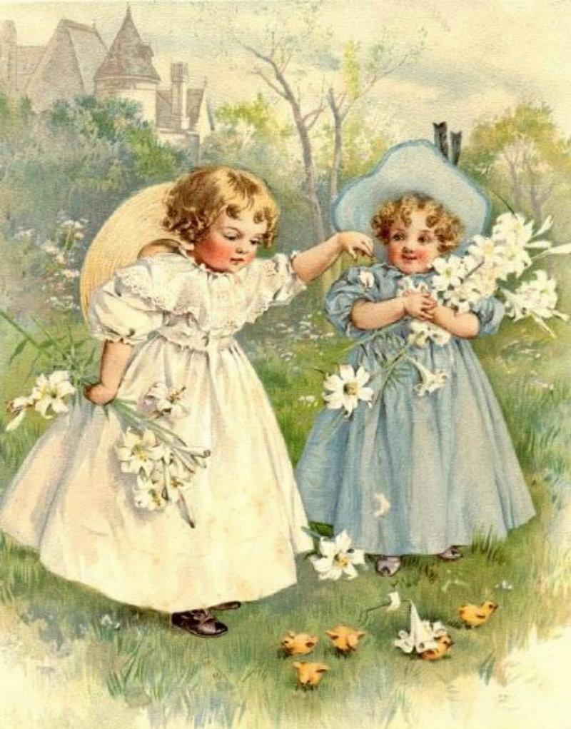 MATIN LUMINEUX: Les petites filles modèles de Maud (Bogart) Humphrey (1865 - 1940)