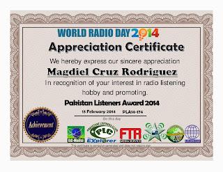 Appreciate Certificate WRD2014
