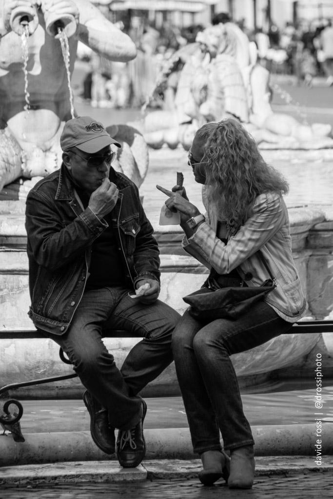 Le parole - fotografia di strada