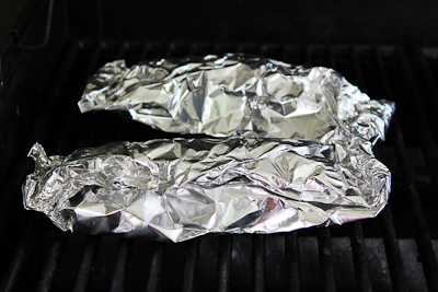 Foil-Wrapped Grilled Tilapia Packets Recipe with Pesto, Tomatoes, and ...