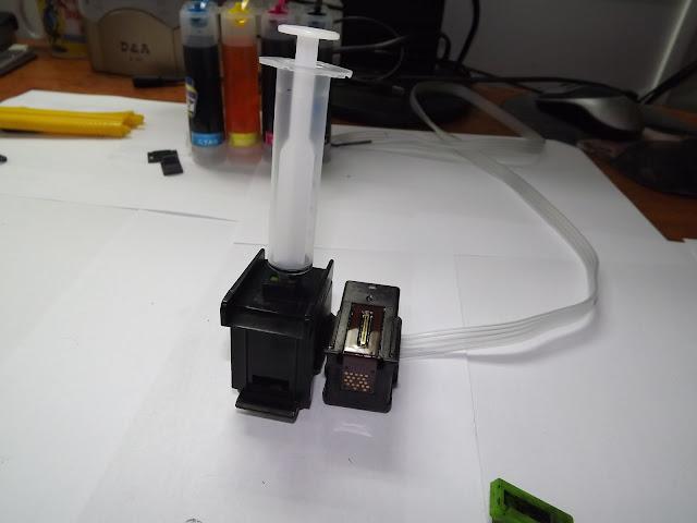 Как сделать самому систему непрерывной подачи чернил в принтере