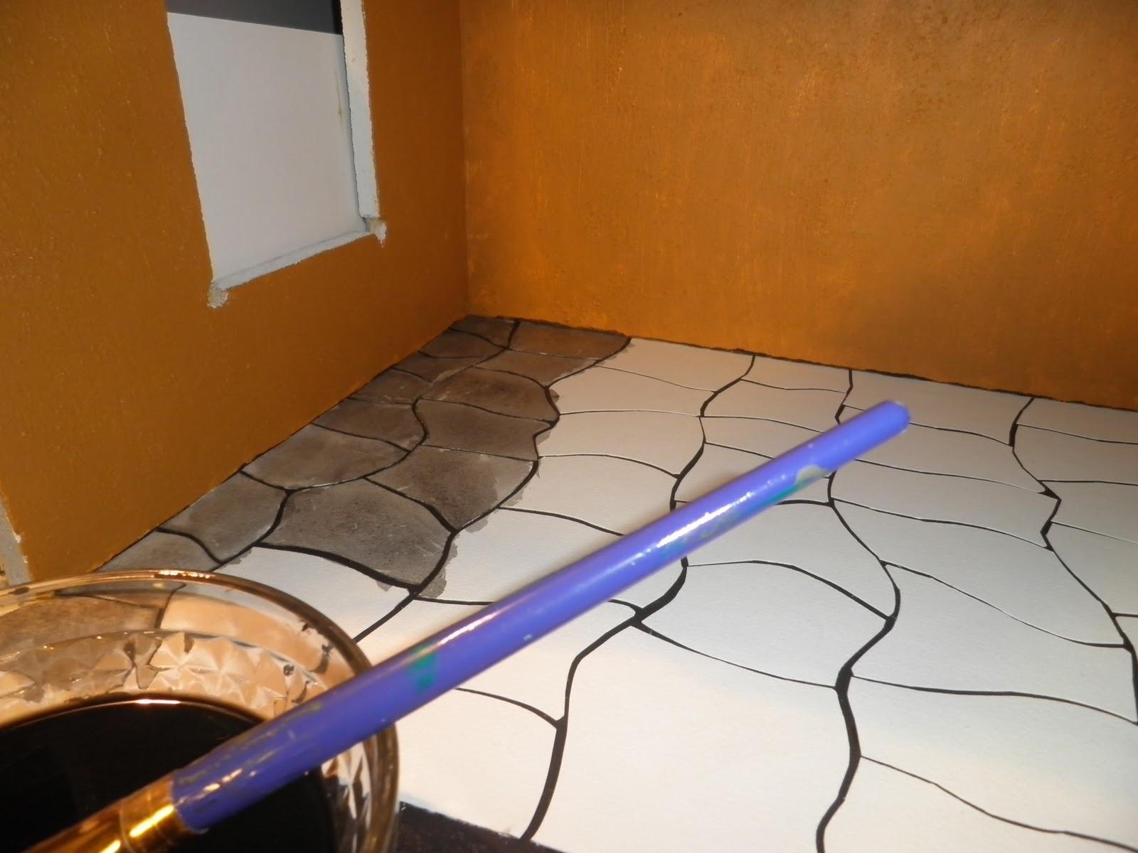 Rotting Roof Keittiön lattia  Kitchen Floo