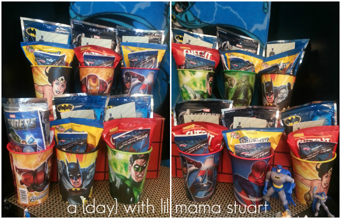 a day with lil mama stuart Superhero Birthday Party DIY Capes