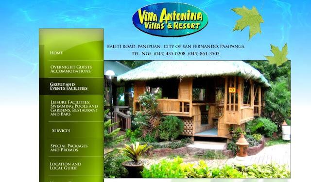 Villa Alfredo S San Fernando Room Rates