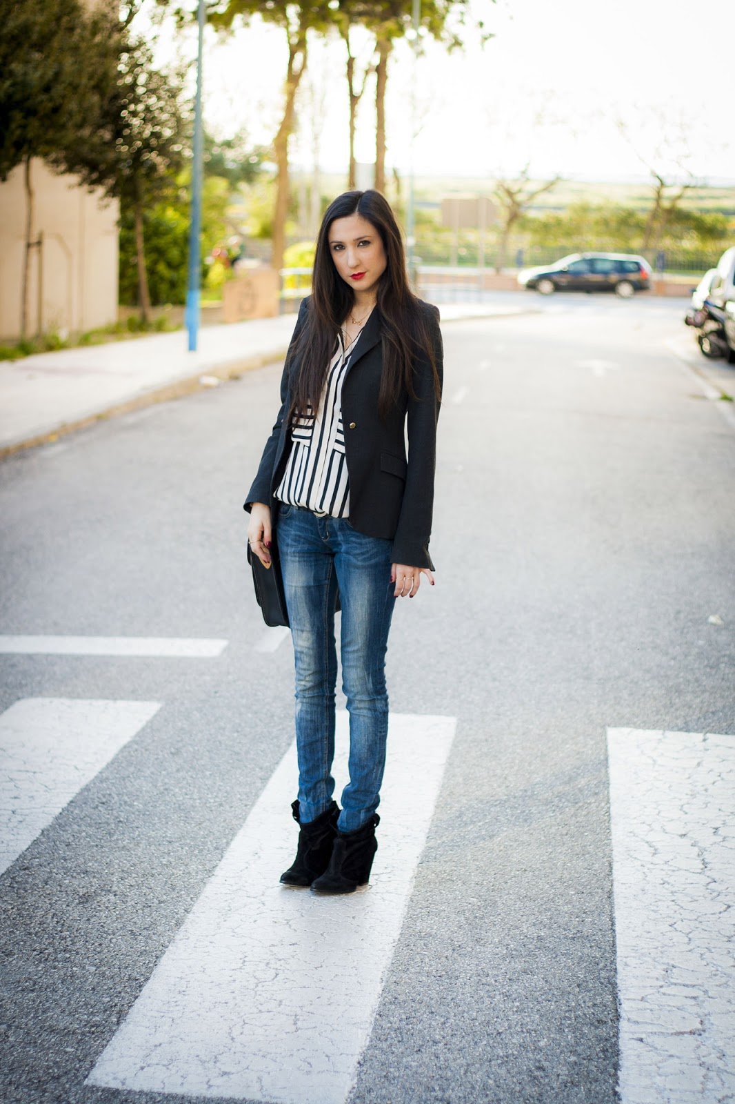 street style rayas