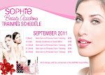 SOPHIE PARIS TRAINING SCHED