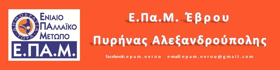 ΕΠΑΜ Έβρου Πυρήνας Αλεξανδρούπολης