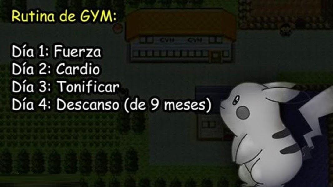 Rutina clásica del gym