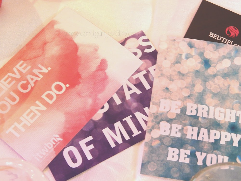 ITWBN Blogger Event Motivational Quotes Cards