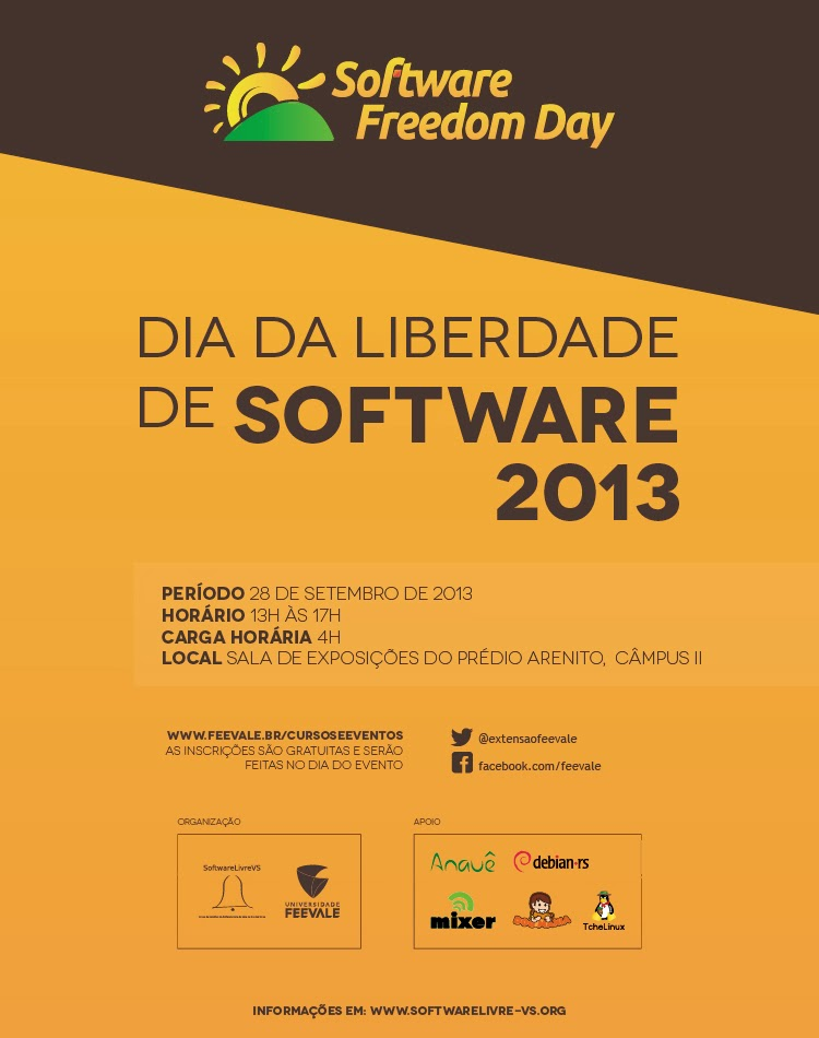 dia da liberdade de software 2013