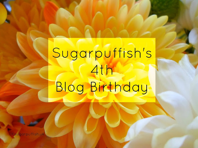Sugarpuffish Blog is 4 years old