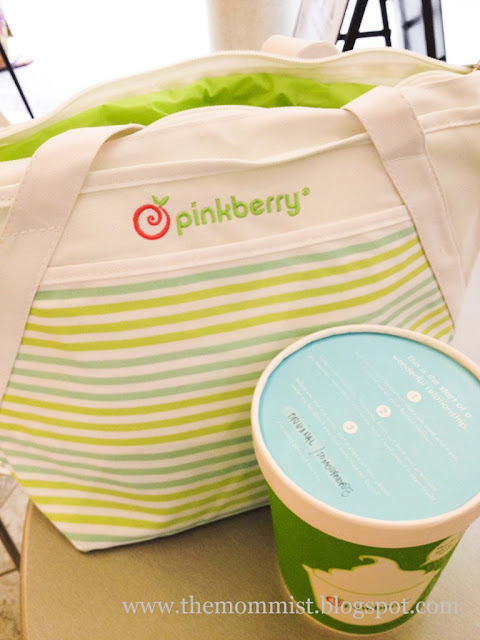 Pinkberry bliss bag and Take Home pint
