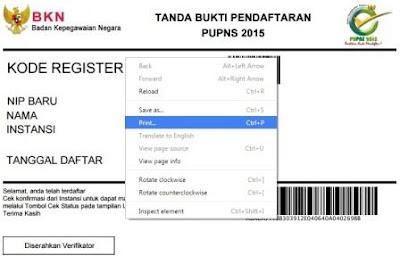 gambar nomor register E-pupns