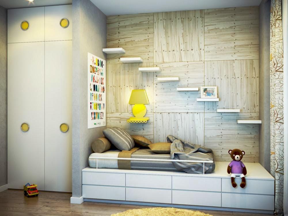 Model kamar anak minimalis 4