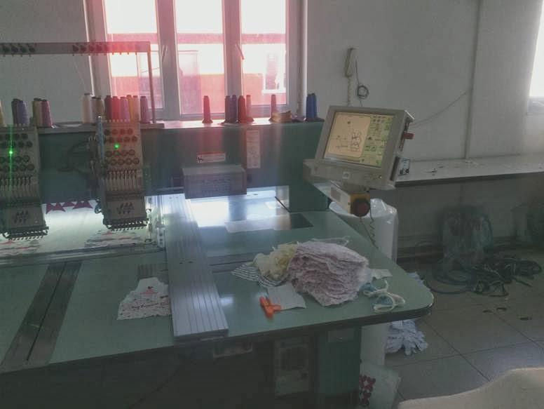 nakış makinaları - nakış işleme merkezi 5