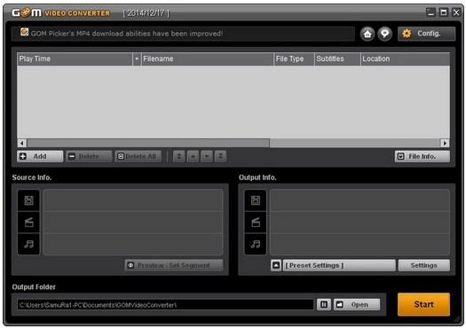 GOM Video Converter v1.1.1.70