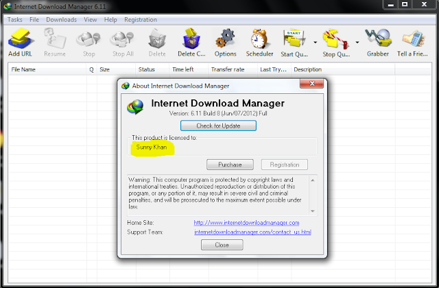 Internet Download Manager 6.11 Registered