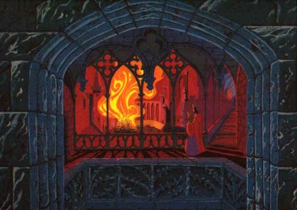 Eyvind Earle Art Gallery Eyvind Early Sleeping Beauty Art