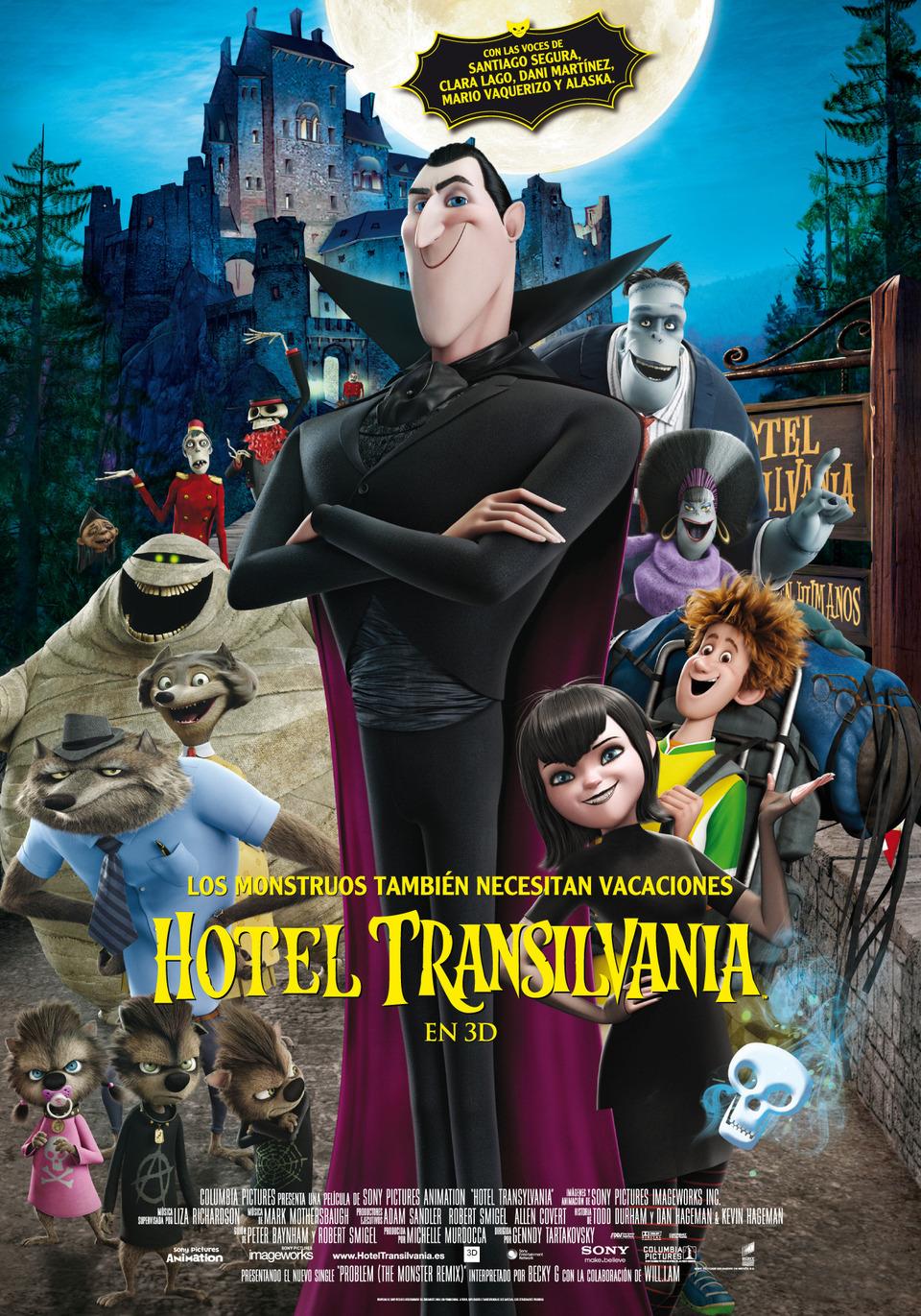 Hotel Transylvania (2012) Poster