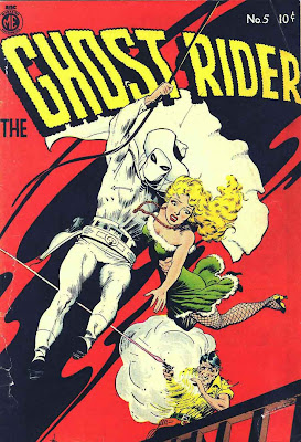 Ghost Rider v1 #5 comic book cover art by Frank Frazetta