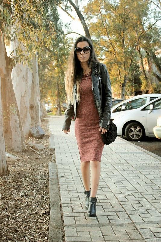 Vestido-chaquetadecuero-botines