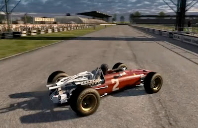 Test Drive Ferrari Racing Legends action game