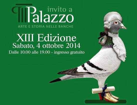 invito a palazzo - sabato 4 ottobre visite guidate nelle sedi storiche delle banche italiane