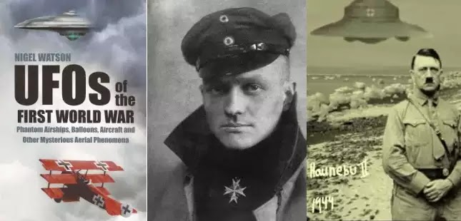 Τα πρώτα X-FILES: Όταν ΑΤΙΑ έκαναν την εμφάνιση τους πάνω από τα πεδία μαχών του Α΄ Παγκοσμίου πολέμου