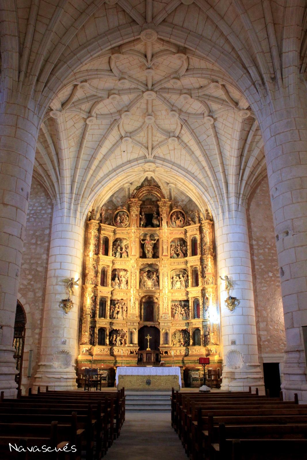 Nave central de Santa María
