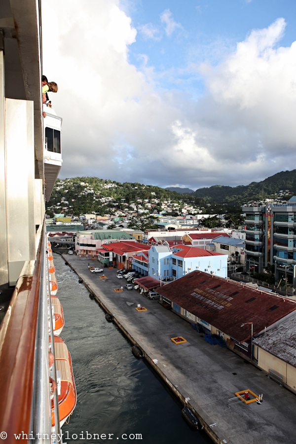 St Lucia, carnival cruise, victory cruise