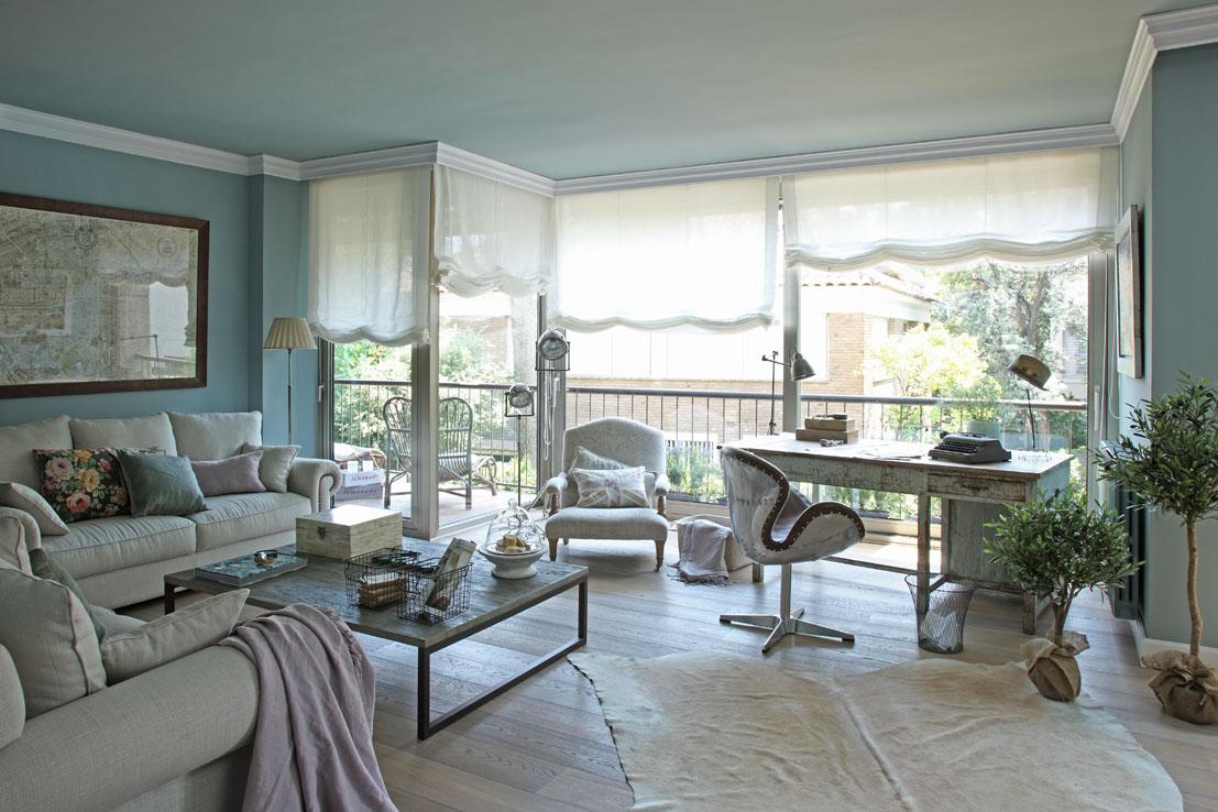Inspiraci n casa en estilo vintage r mantico estilo for Diseno de interiores vintage