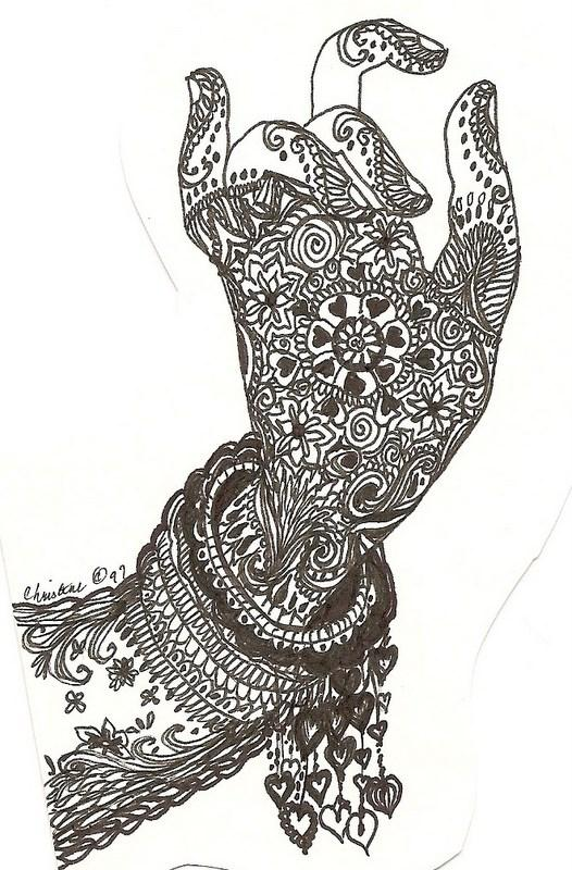 Fashionclub trendy and stylish mehndi designs 2015 for for Simple designs on paper