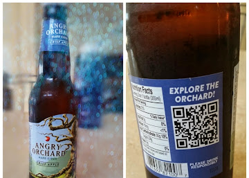 Talking Trees and QR Codes brought to you by Angry Orchard