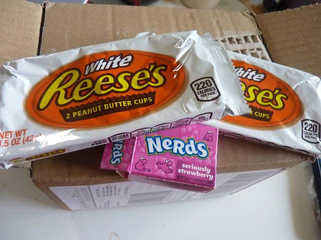 chocolat blanc, beurre de cacahuette, nerds, wonka, bonbons américains, bonbon, gourmandises américaine, épicerie américaine