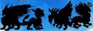 imagen de los dragones del elemento luz