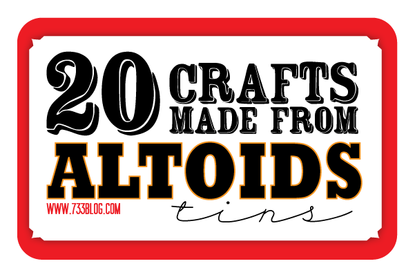 Crafts Made With Altoid Tins