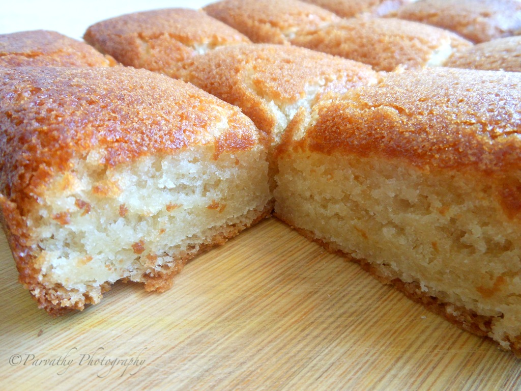 Good food recipes » Basic vanilla cake recipe with oil