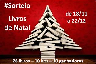 SORTEIO: Livros de Natal!