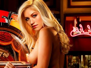 Yvonne Strahovski nude Playboy playmate miss february
