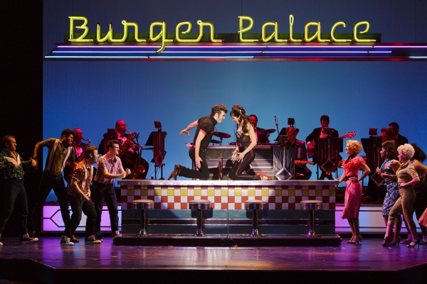 Grease the musical set design good life northwest musical grease at