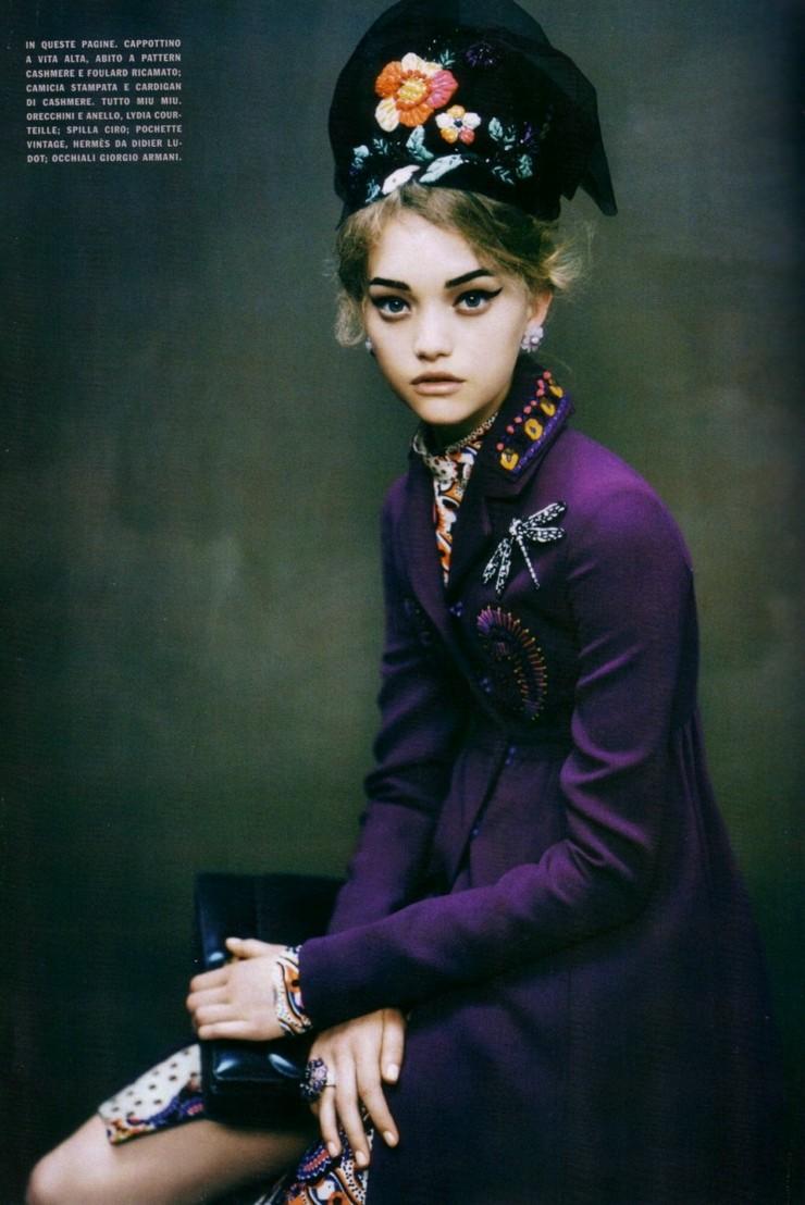 Swift Unicorn: Gemma Ward for Vogue Italia December 2005 ...