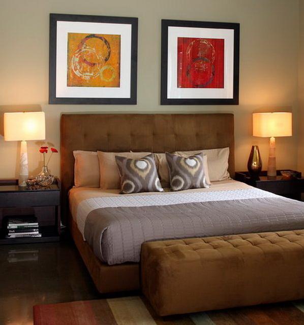 Jolies t te de lit pour votre chambre coucher d cor de for Lit pour chambre a coucher