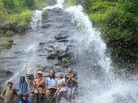 Air Terjun di antara Tebing, Grojogan Watu Jonggol