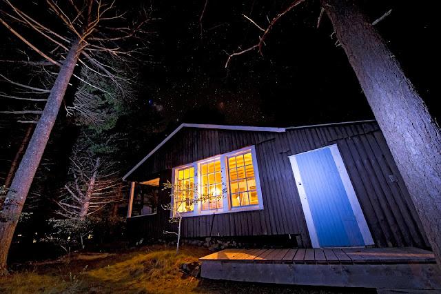 Nova Scotia; LaHave RIver; Cabin; Milky Way; Stars