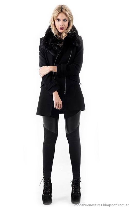 Otoño invierno 2014 colección Activity abrigos de moda 2014.