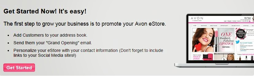 Sell Avon Online for Free