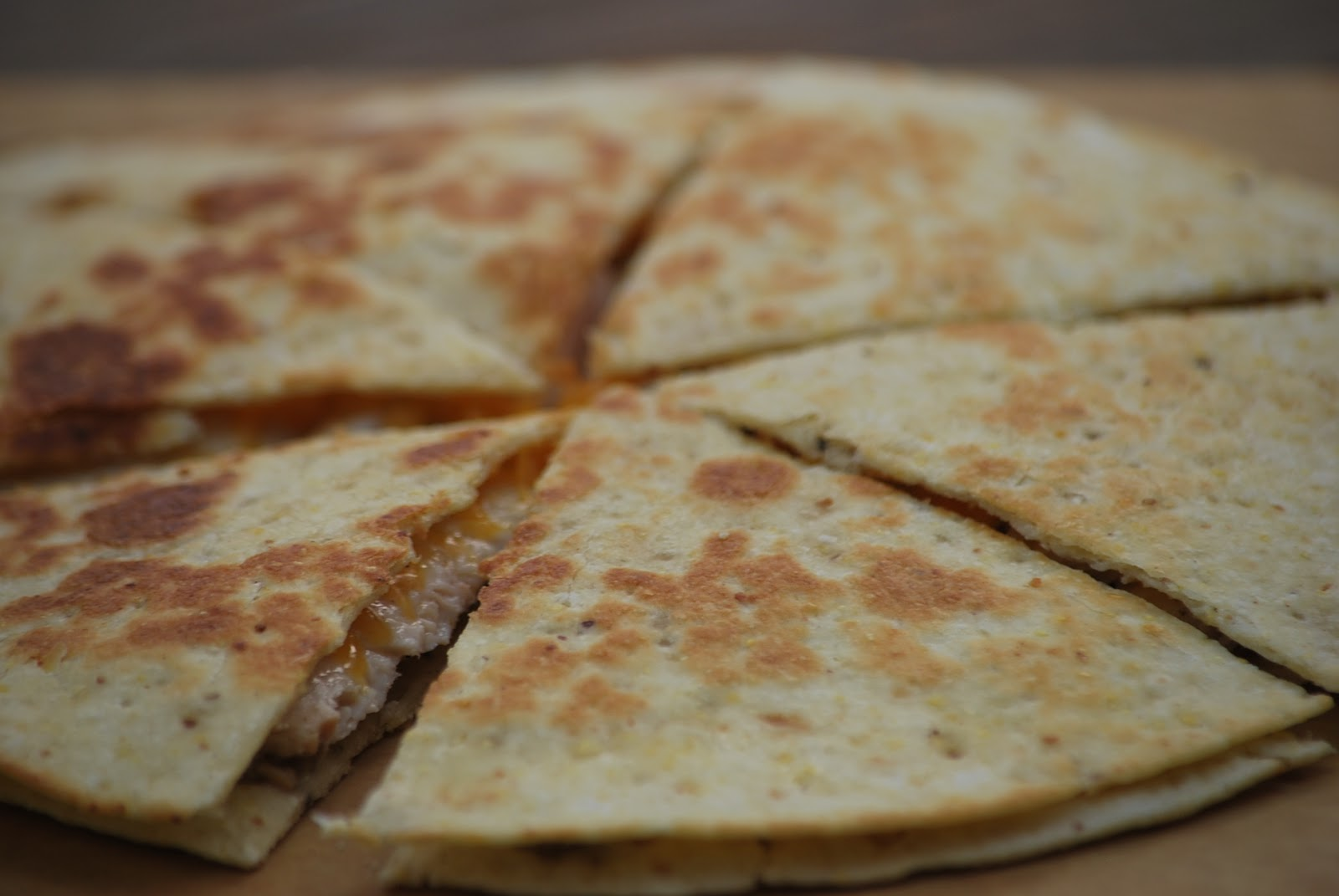 My story in recipes: Chicken Quesadillas