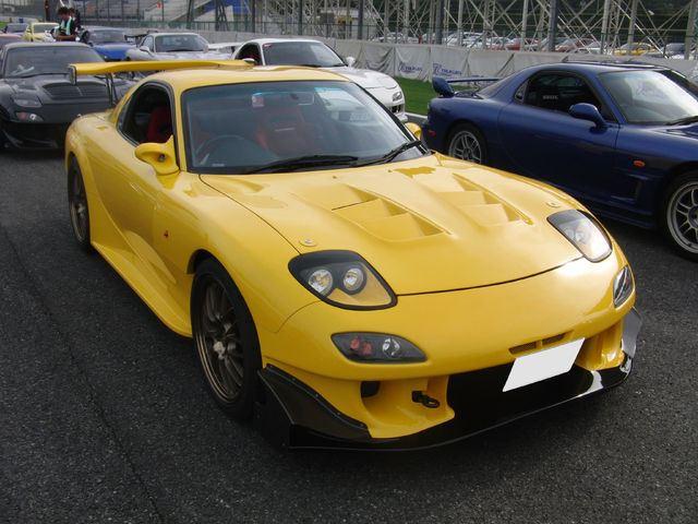 Mazda RX-7 FD3S tuning