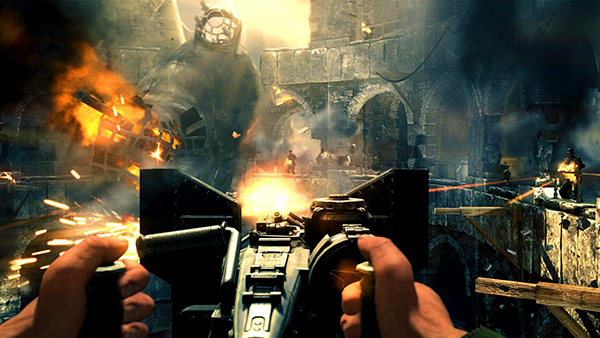 Wolfenstein The New Order - Reloaded 2014 Screenshot 1